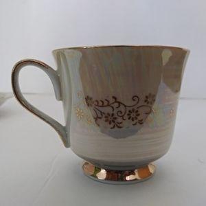 Vintage Kitchen - Vintage Fragonard Courting Couple teacup & saucer